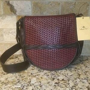 💖Like new💖 Patricia Nash Cavallina Saddle Bag